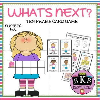 WHAT'S NEXT? Ten Frame Card Game