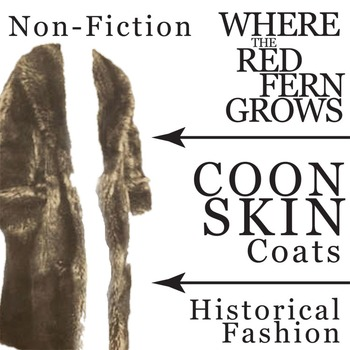 WHERE THE RED FERN GROWS Coonskin Coat Historical Fashion