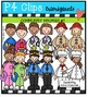 Community Helpers BUNDLE P4 Clips Trioriginals