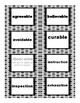 IRLA - WHITE: Latin Suffixes - Flashcards