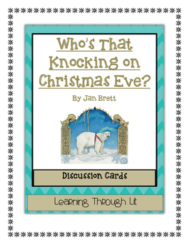 Jan Brett WHO'S THAT KNOCKING ON CHRISTMAS EVE? - Discussi