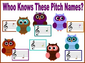 WHOO Knows These Pitch Names