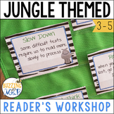 Jungle Themed Reader's Workshop Materials, great for notebooks