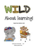 WILD about learning--jungle themed classroom numbers