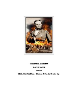WILLIAM T. SHERMAN & The March to the Sea: Civil War R-A-F