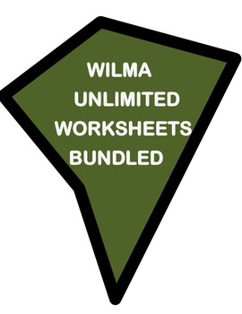 WILMA UNLIMITED by Kathleen Krull- STORY WORKSHEETS AND MO