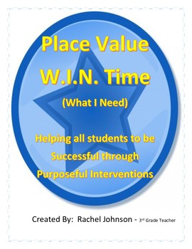 WIN Time Place Value Intervention
