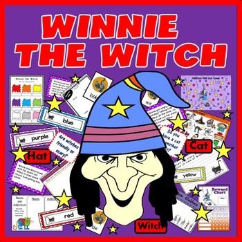 WINNIE THE WITCH STORY RESOURCES LITERACY READING EYFS, KS