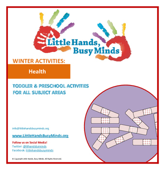 WINTER Activities : Health: Monthly Thematic Unit for Todd