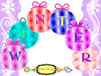 Winter - Free Downloads - Glitter Clipart