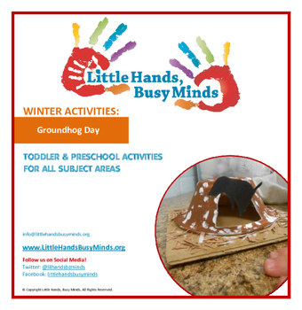 Groundhog Day- Mini Thematic Unit for Toddlers/Pre-K