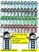 SNOWMEN TEN FRAMES-WINTER MATH CLIPART- COMMERICAL USE