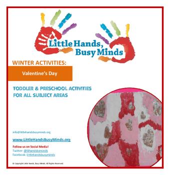 Valentine's Day- Mini Thematic Unit for Toddlers/Pre-K