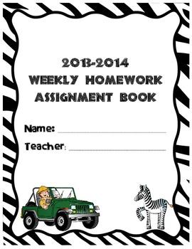 WIld Assignment Book