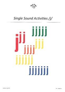 WJQVXYZ Alphabet Sounds /j/