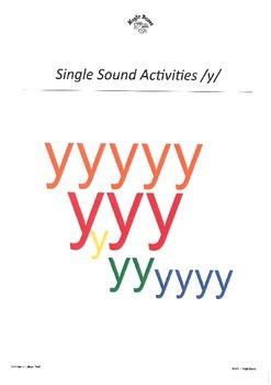 WJQVXYZ Alphabet Sounds /y/