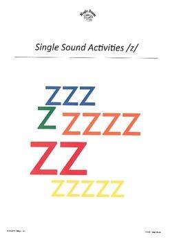 WJQVXYZ Alphabet Sounds /z/