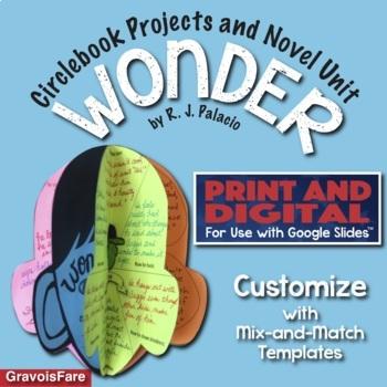 WONDER by R. J. Palacio: Circlebook Projects and Novel Uni