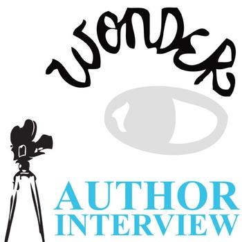 WONDER Palacio R.J. Novel Interview