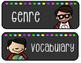 WONDERS Focus Board Polka Dot Labels