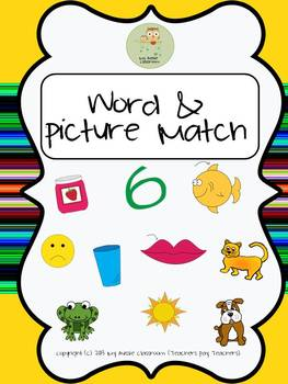 PHONICS - WORD AND PICTURE MATCH