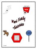 WORD FAMILY WORKBOOK AB-UT