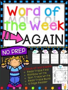 WORD OF THE WEEK - AGAIN