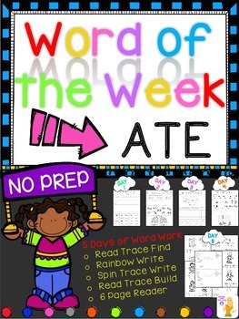 WORD OF THE WEEK - ATE