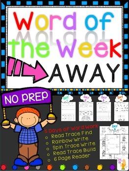 WORD OF THE WEEK - AWAY