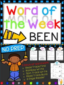 WORD OF THE WEEK - BEEN