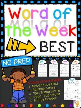 WORD OF THE WEEK - BEST