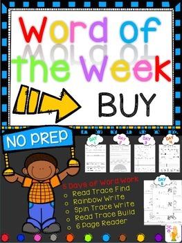 WORD OF THE WEEK - BUY