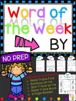 WORD OF THE WEEK - BY