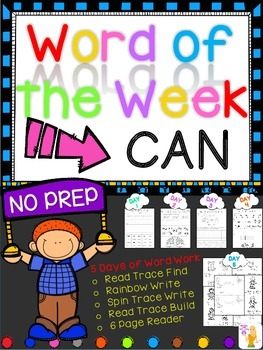 WORD OF THE WEEK - CAN
