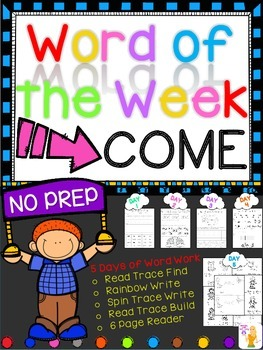 WORD OF THE WEEK - COME