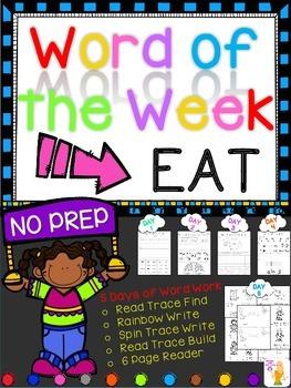 WORD OF THE WEEK - EAT