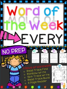 WORD OF THE WEEK - EVERY
