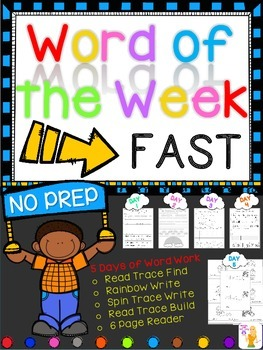 WORD OF THE WEEK - FAST