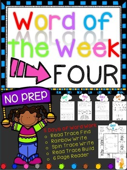 WORD OF THE WEEK - FOUR