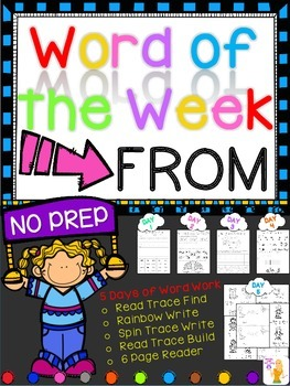 WORD OF THE WEEK - FROM