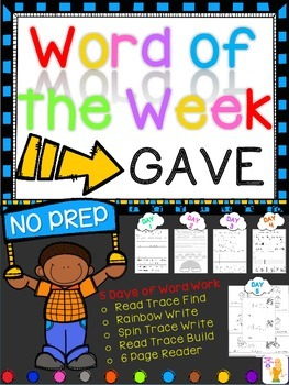 WORD OF THE WEEK - GAVE