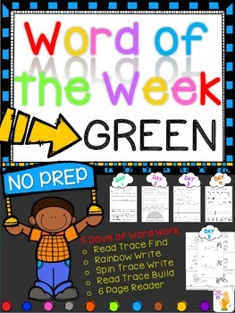 WORD OF THE WEEK - GREEN