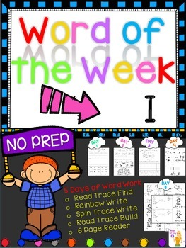 WORD OF THE WEEK - I