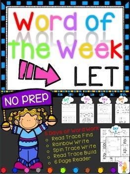 WORD OF THE WEEK - LET