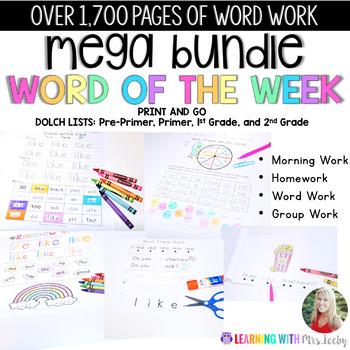WORD OF THE WEEK - MEGA BUNDLE {179 WORDS}