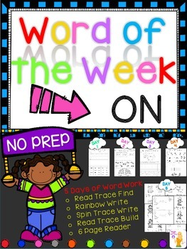 WORD OF THE WEEK - ON
