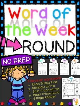 WORD OF THE WEEK - ROUND