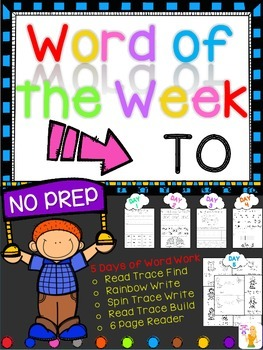 WORD OF THE WEEK - TO