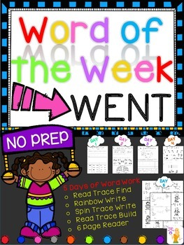 WORD OF THE WEEK - WENT
