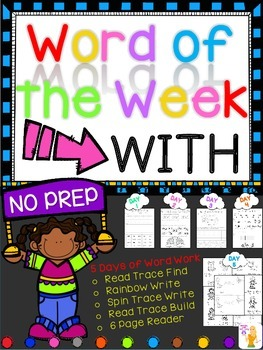 WORD OF THE WEEK - WITH